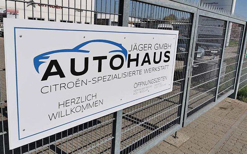 Autohaus Jäger GmbH Werkstatt Germersheim